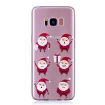 Karácsonyi Tok Samsung Galaxy S8 + (Plus) Szilikon Tok Christmas Style XMASS-02