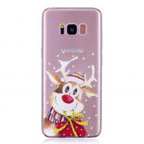 Karácsonyi Tok Samsung Galaxy S8 + (Plus) Szilikon Tok Christmas Style XMASS-03