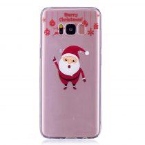 Karácsonyi Tok Samsung Galaxy S8 + (Plus) Szilikon Tok Christmas Style XMASS-04