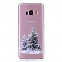 Karácsonyi Tok Samsung Galaxy S8 + (Plus) Szilikon Tok Christmas Style XMASS-06