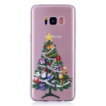 Karácsonyi Tok Samsung Galaxy S8 + (Plus) Szilikon Tok Christmas Style XMASS-07
