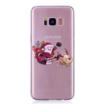 Karácsonyi Tok Samsung Galaxy S8 + (Plus) Szilikon Tok Christmas Style XMASS-08