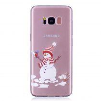 Karácsonyi Tok Samsung Galaxy S8 + (Plus) Szilikon Tok Christmas Style XMASS-10