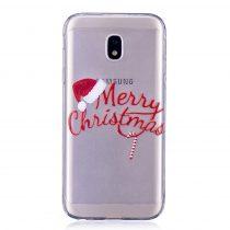 Karácsonyi Tok Samsung Galaxy J3 (2017) Szilikon Tok Christmas Style XMASS-01