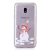 Karácsonyi Tok Samsung Galaxy J3 (2017) Szilikon Tok Christmas Style XMASS-02