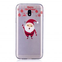 Karácsonyi Tok Samsung Galaxy J3 (2017) Szilikon Tok Christmas Style XMASS-03