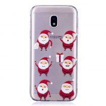 Karácsonyi Tok Samsung Galaxy J3 (2017) Szilikon Tok Christmas Style XMASS-06