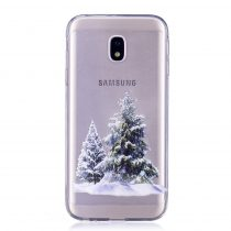 Karácsonyi Tok Samsung Galaxy J3 (2017) Szilikon Tok Christmas Style XMASS-07