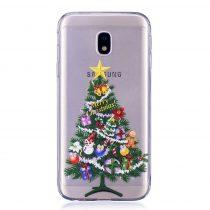 Karácsonyi Tok Samsung Galaxy J3 (2017) Szilikon Tok Christmas Style XMASS-08
