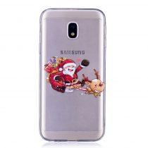 Karácsonyi Tok Samsung Galaxy J3 (2017) Szilikon Tok Christmas Style XMASS-09