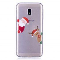 Karácsonyi Tok Samsung Galaxy J3 (2017) Szilikon Tok Christmas Style XMASS-10