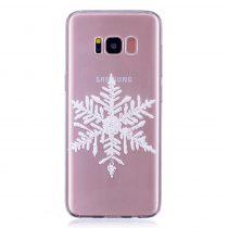 Karácsonyi Tok Samsung Galaxy S8 Szilikon Tok Christmas Style XMASS-05
