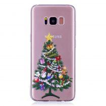 Karácsonyi Tok Samsung Galaxy S8 Szilikon Tok Christmas Style XMASS-07