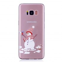 Karácsonyi Tok Samsung Galaxy S8 Szilikon Tok Christmas Style XMASS-10
