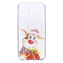 Karácsonyi Tok Samsung Galaxy J7 (2017) Szilikon Tok Christmas Style XMASS-10