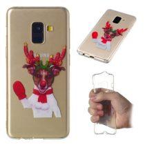 Samsung Galaxy A8 (2018) Szilikon Tok Karácsonyi XMASS-RMPACK-XM002