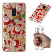 Samsung Galaxy A8 (2018) Szilikon Tok Karácsonyi XMASS-RMPACK-XM003