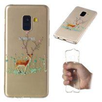Samsung Galaxy A8 (2018) Szilikon Tok Karácsonyi XMASS-RMPACK-XM004