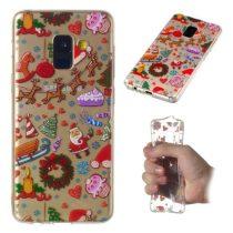 Samsung Galaxy A8 (2018) Szilikon Tok Karácsonyi XMASS-RMPACK-XM005