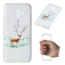 Samsung Galaxy A6 (2018) Szilikon Tok Karácsonyi XMASS-RMPACK-XM003