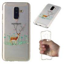 Samsung Galaxy A6+ / A6 Plus (2018) Szilikon Tok Karácsonyi XMASS-RMPACK-XM002