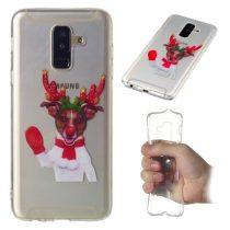 Samsung Galaxy A6+ / A6 Plus (2018) Szilikon Tok Karácsonyi XMASS-RMPACK-XM004