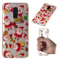 Samsung Galaxy A6+ / A6 Plus (2018) Szilikon Tok Karácsonyi XMASS-RMPACK-XM005