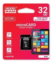 Goodram/Toshiba Memóriakártya 32GB CLASS 10 UHS-1 + SD Adapter